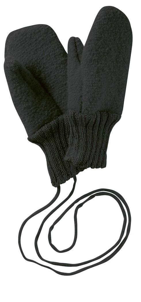 Manusi Disana din lana merinos boiled wool Anthracit
