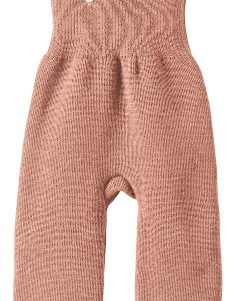 Pantaloni salopeta Disana din lana merinos Rose