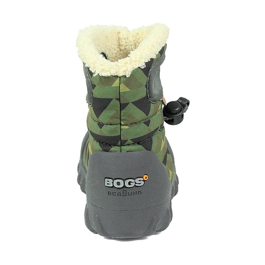 BOGS Footwear cizme de iarnă impermeabile B-MOC Mountain Green Multi 3