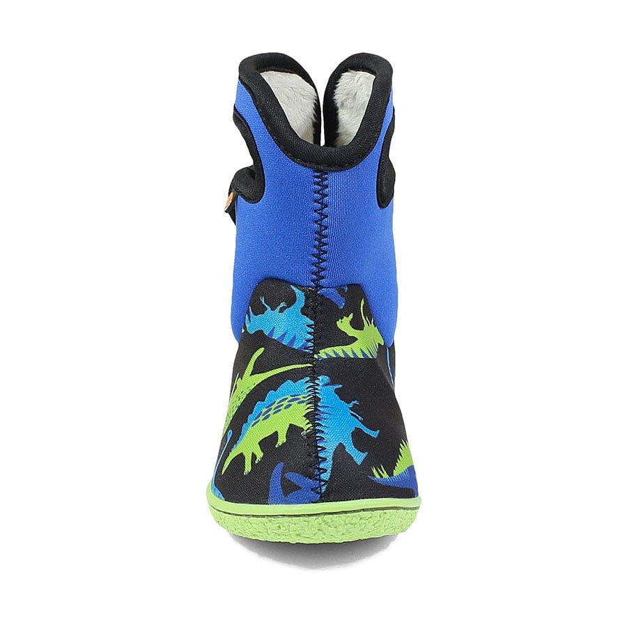BOGS Footwear cizme de iarnă impermeabile Baby Bogs Dino Electric Blue Multi 2