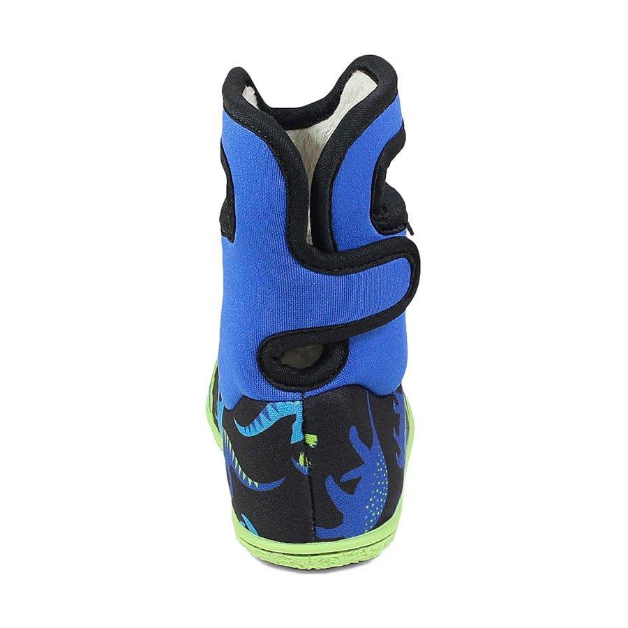 BOGS Footwear cizme de iarnă impermeabile Baby Bogs Dino Electric Blue Multi 4
