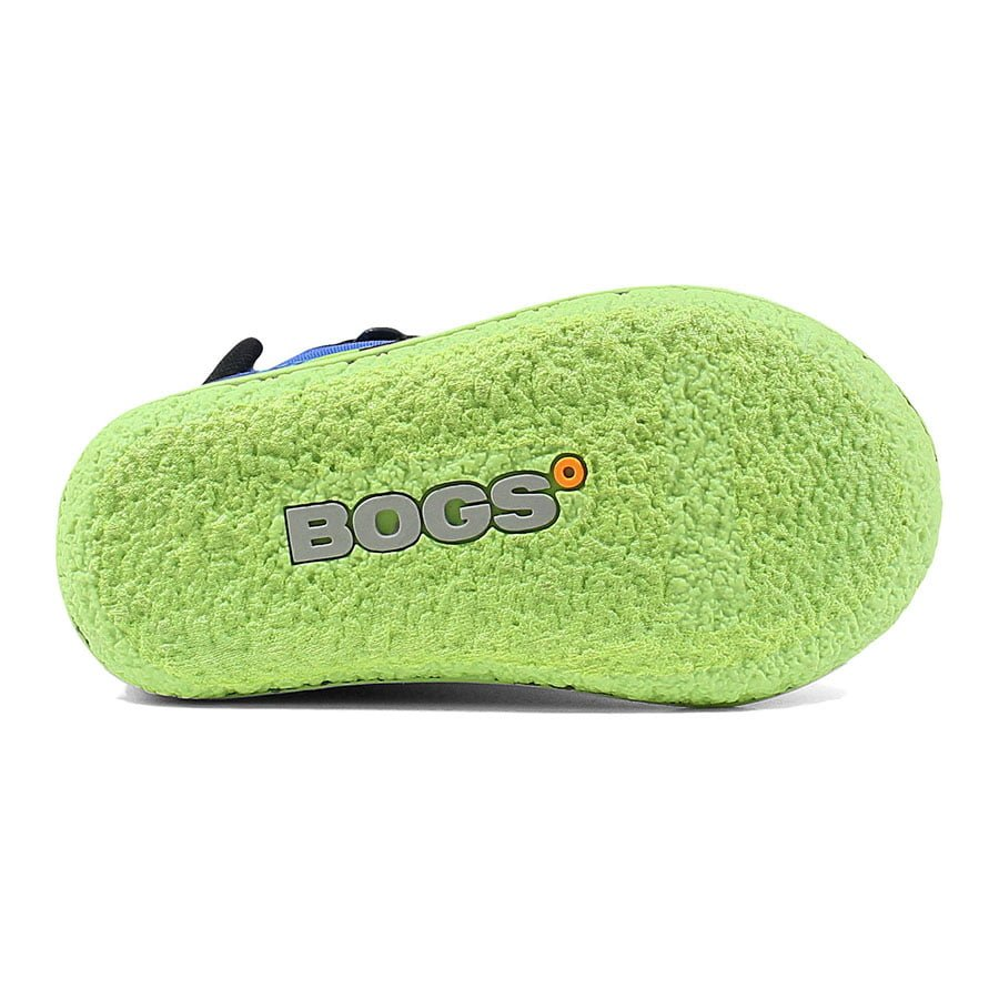 BOGS Footwear cizme de iarnă impermeabile Baby Bogs Dino Electric Blue Multi 5