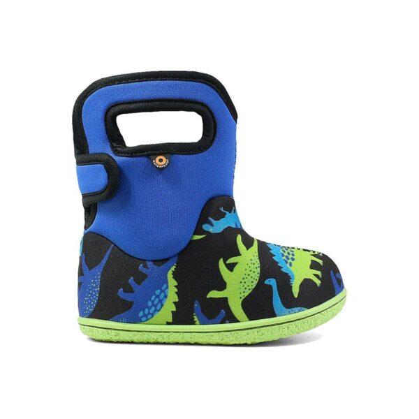 BOGS Footwear cizme de iarnă impermeabile Baby Bogs Dino Electric Blue Multi