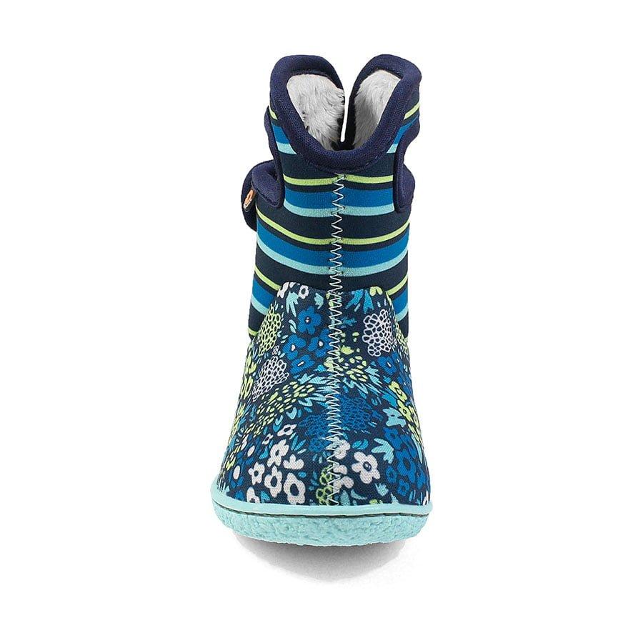 BOGS Footwear cizme de iarnă impermeabile Baby Bogs Northwest Garden Teal Multi 2
