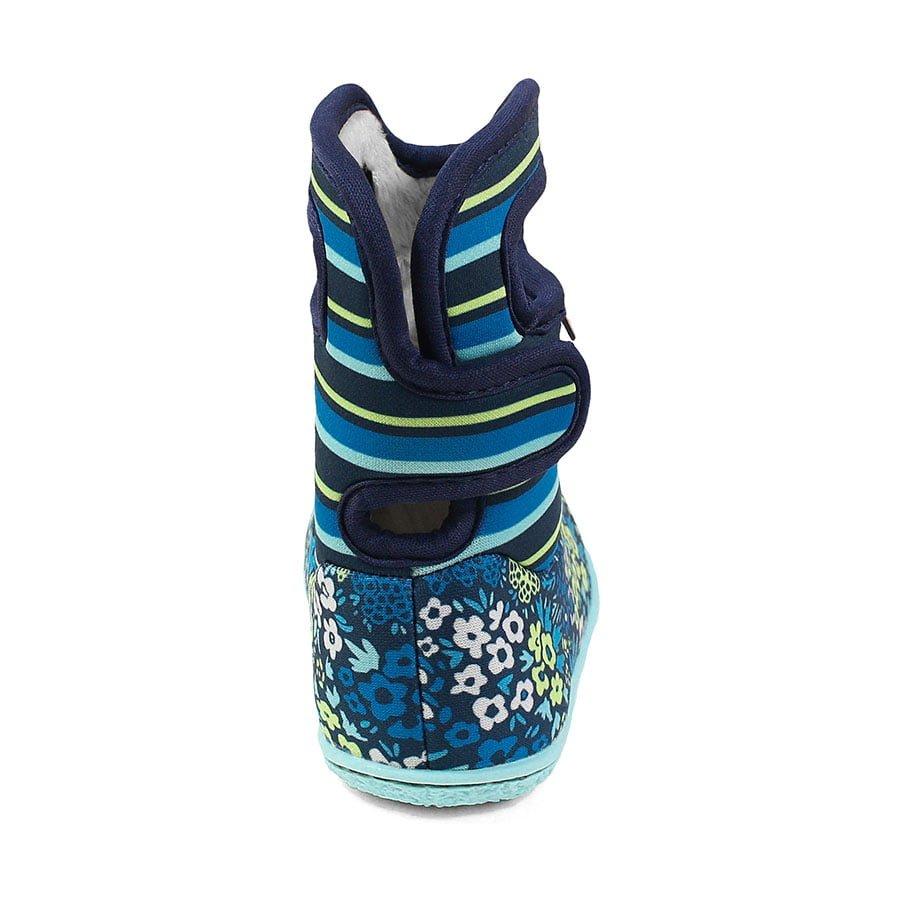 BOGS Footwear cizme de iarnă impermeabile Baby Bogs Northwest Garden Teal Multi 4