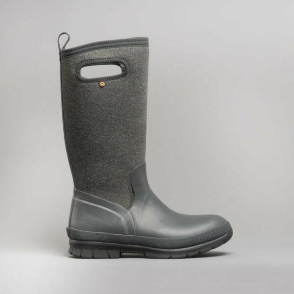 BOGS Footwear cizme de iarnă impermeabile pentru femei Crandall Tall Dark Grey