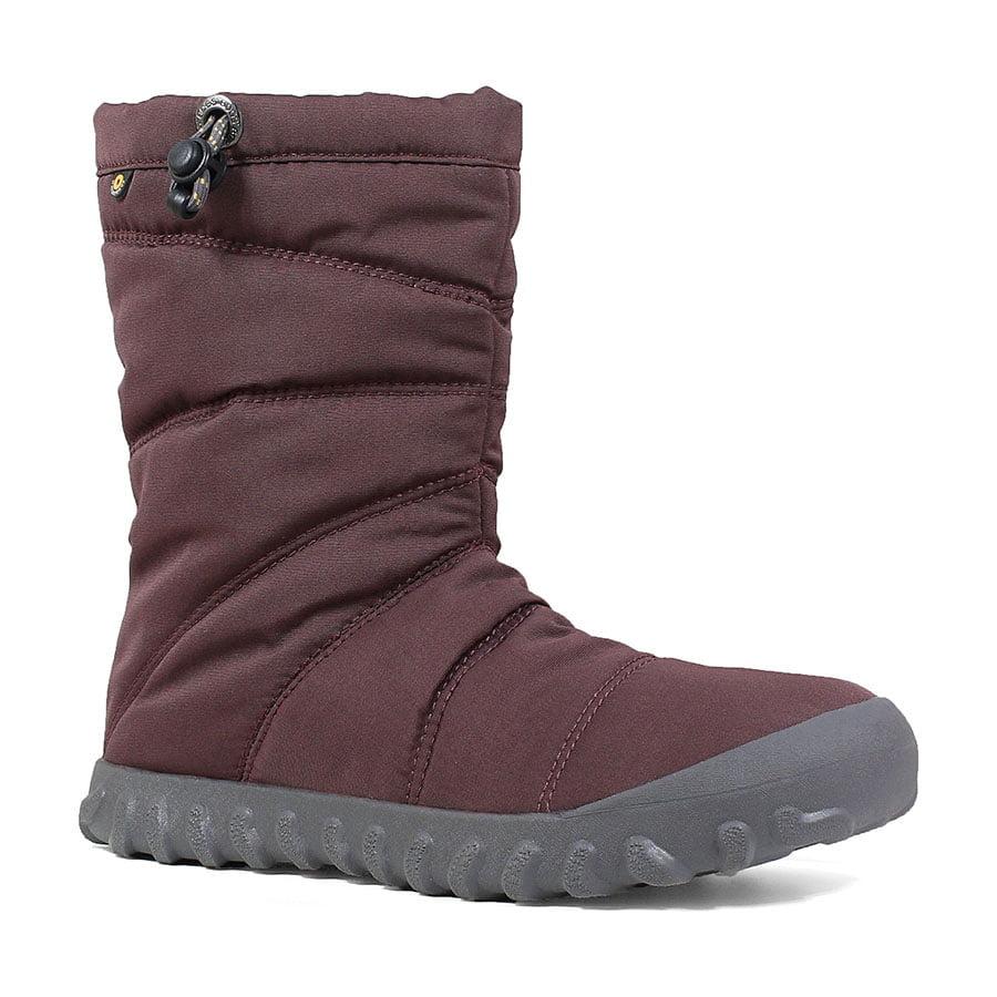 BOGS Footwear cizme de iarnă impermeabile pentru femei Puffy Mid Grape 1