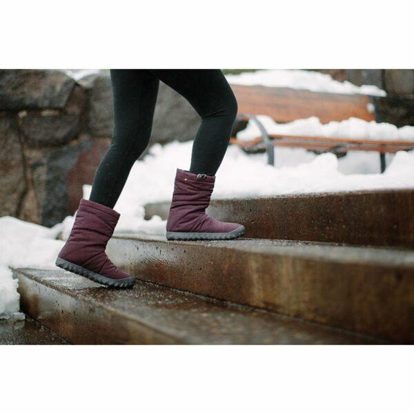 BOGS Footwear cizme de iarnă impermeabile pentru femei Puffy Mid Grape 6