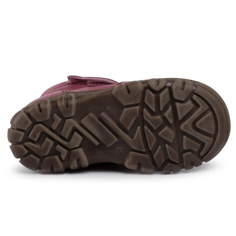 Cizme impermeabile din piele căptuşite cu lână naturală şi talpă flexibilă Froddo Bordeaux 3