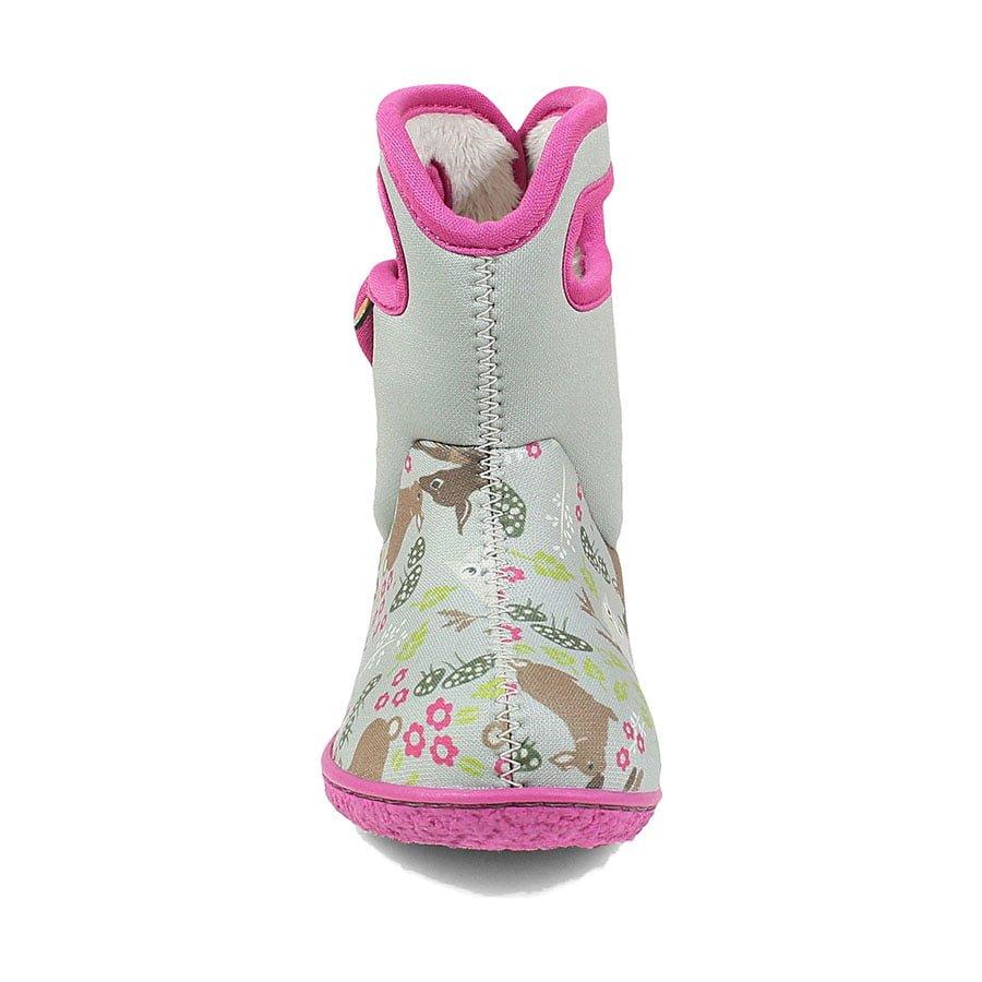 BOGS Footwear cizme de iarnă impermeabile Baby Bogs Reef Gray Multi 2