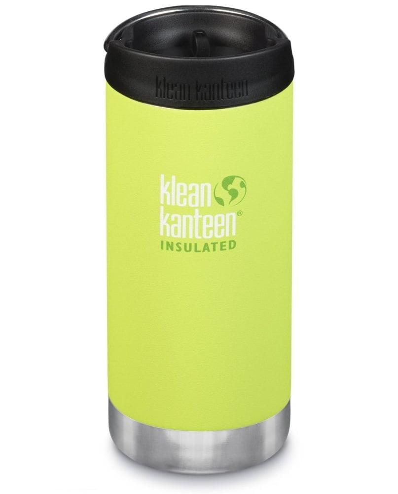 Cană termoizolantă termos cu capac de cafea Juicy Pear Matte TKWide 355 ml Klean Kanteen