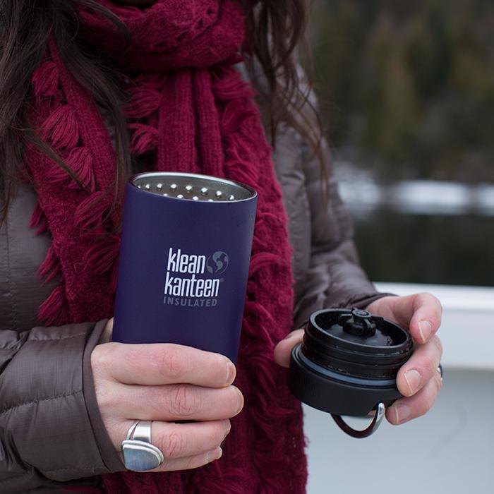 Cană termoizolantă termos cu capac de cafea TKWide