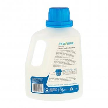 Detergent rufe fără miros pentru bebeluși 50 spălări 1.5 L Ecomax 2