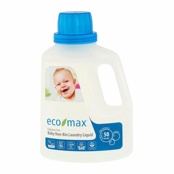 Detergent rufe fără miros pentru bebeluși 50 spălări 1.5 L Ecomax