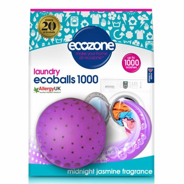 Ecoballs – bile eco pentru spălarea rufelor cu parfum de iasomie 1000 spălări Ecozone