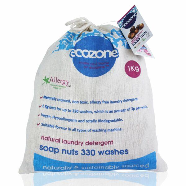 Nuci de săpun bio 330 de spălări 1kg Ecozone