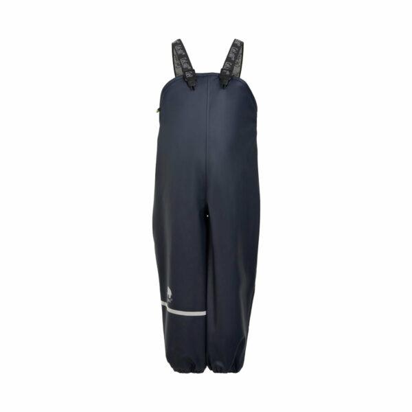 Pantaloni de ploaie si vant captusiti integral cu fleece navy CeLaVi