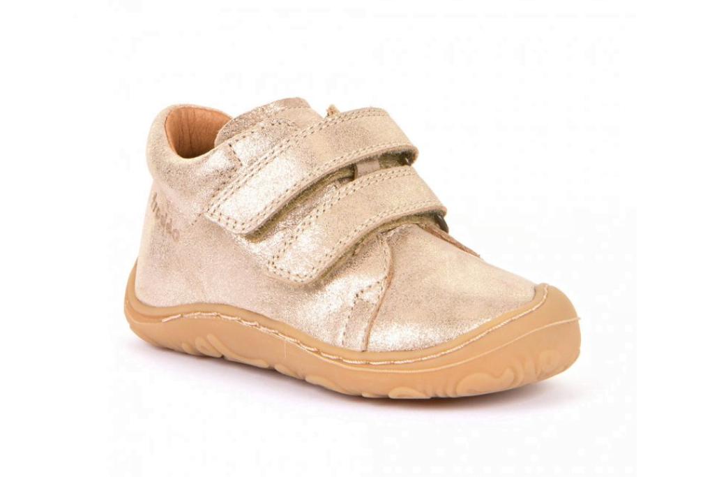 Pantofi din piele cu talpă extra flexibilă Froddo Gold
