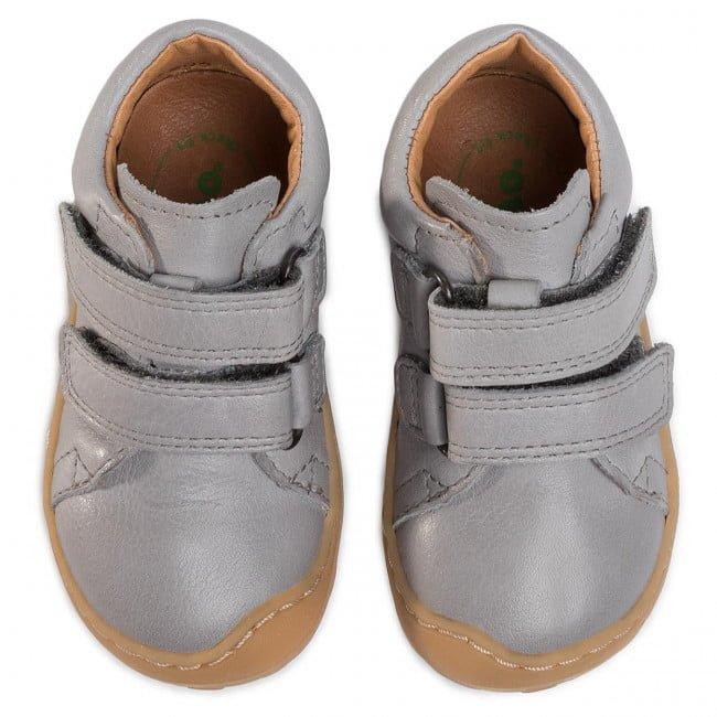 Pantofi din piele cu talpă extra flexibilă Froddo Light Grey 2