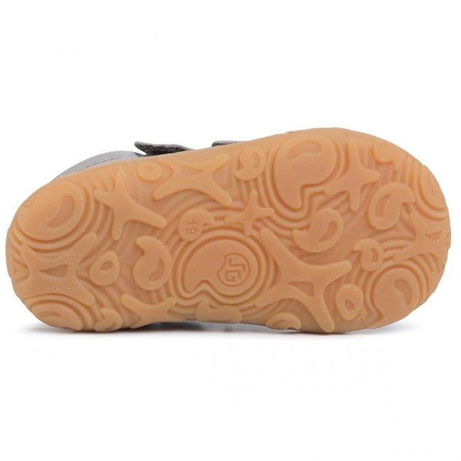 Pantofi din piele cu talpă extra flexibilă Froddo Light Grey 3