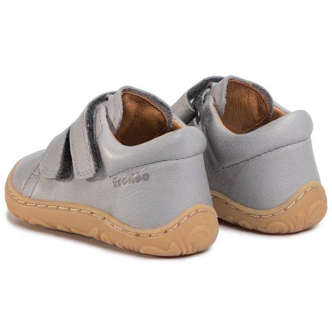 Pantofi din piele cu talpă extra flexibilă Froddo Light Grey 5