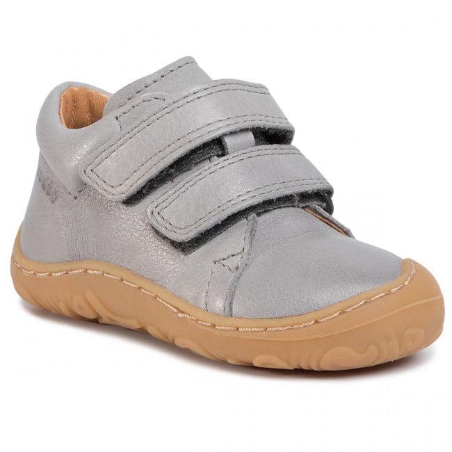 Pantofi din piele cu talpă extra flexibilă Froddo Light Grey