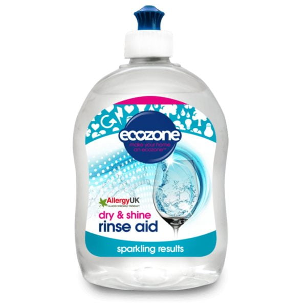 Soluție clătire pentru mașina de spălat vase 500 ml Ecozone