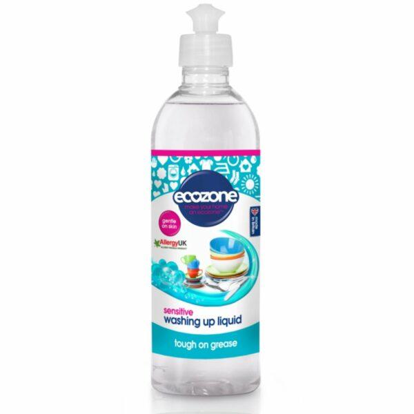Soluție fără miros pentru spălat vase și biberoane Sensitive 500 ml Ecozone