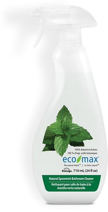 Soluție pentru curățare baie, gresie și suprafete dure cu mentă 710 ml Ecomax