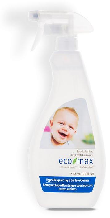 Soluție pentru curățare jucării și camera bebelușului 710 ml Ecomax