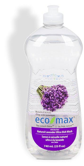 Soluție spălat vase cu lavandă și aloe vera 740 ml Ecomax