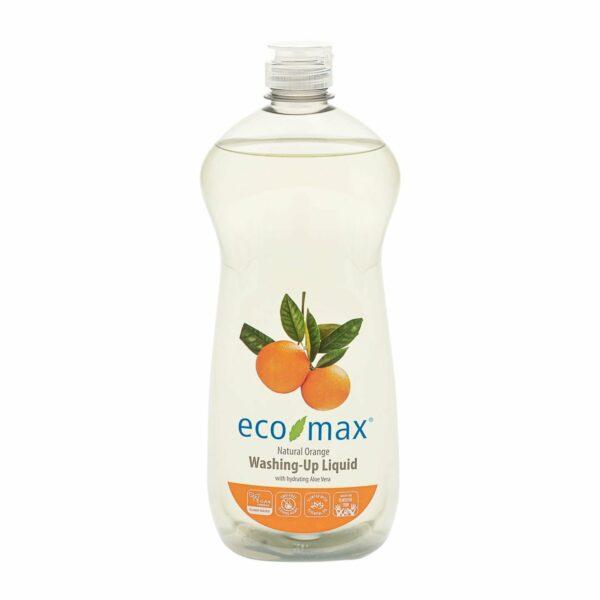 Soluție spălat vase cu portocale și aloe vera 740 ml Ecomax