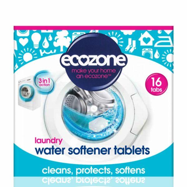 Tablete anticalcar 3 în 1 pentru mașina de spălat rufe 16 bucăți Ecozone