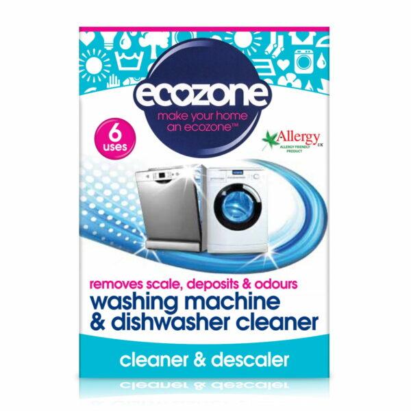 Tablete pentru curățarea mașinii de spălat rufe și vase 6 buc Ecozone