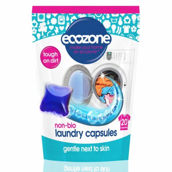 Detergent capsule 20 buc 500 g Ecozone
