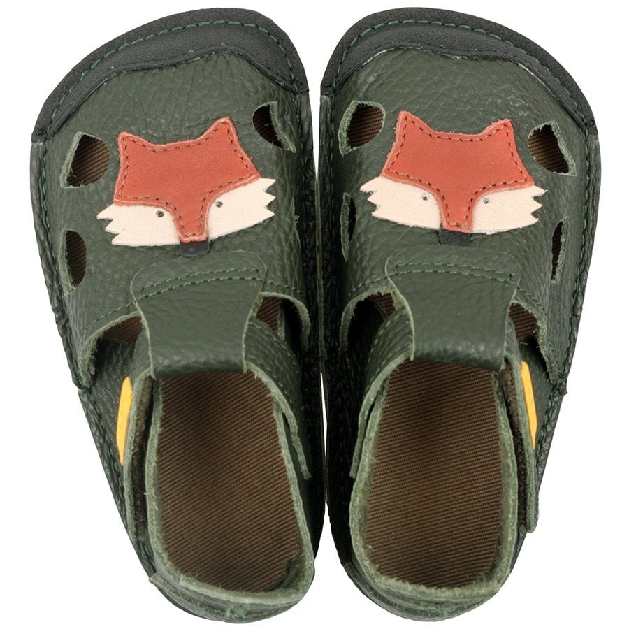 Sandale barefoot din piele Nido Felix Tikki