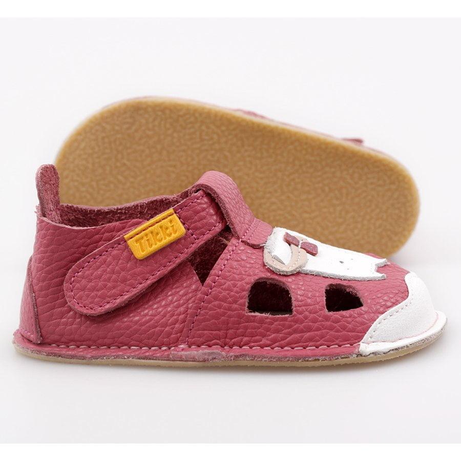Sandale barefoot din piele Nido Kitty Tikki 3