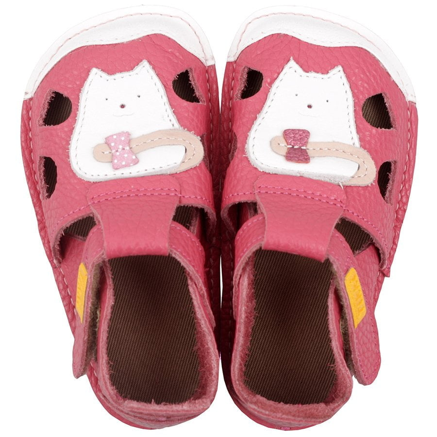 Sandale barefoot din piele Nido Kitty Tikki