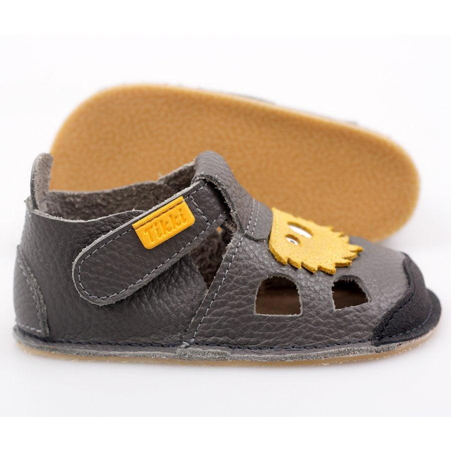 Sandale barefoot din piele Nido Milo Tikki 3
