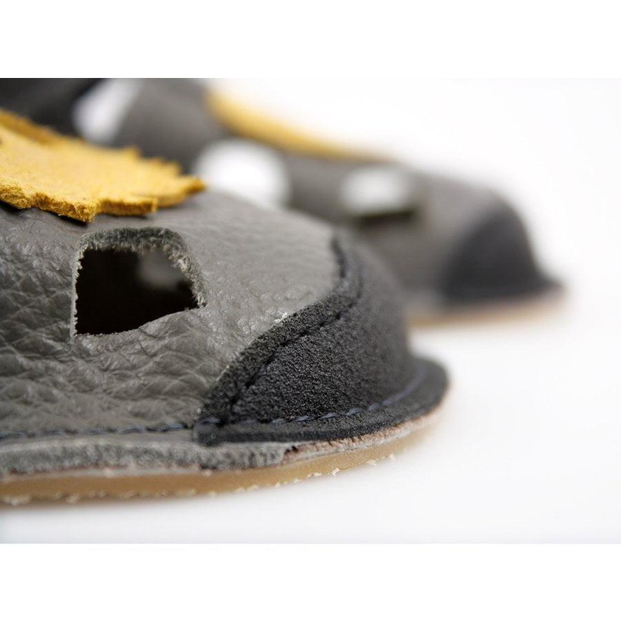 Sandale barefoot din piele Nido Milo Tikki 5