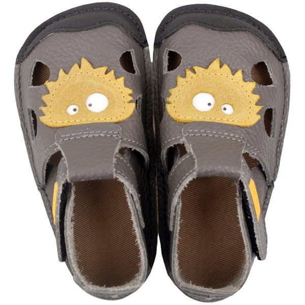 Sandale barefoot din piele Nido Milo Tikki