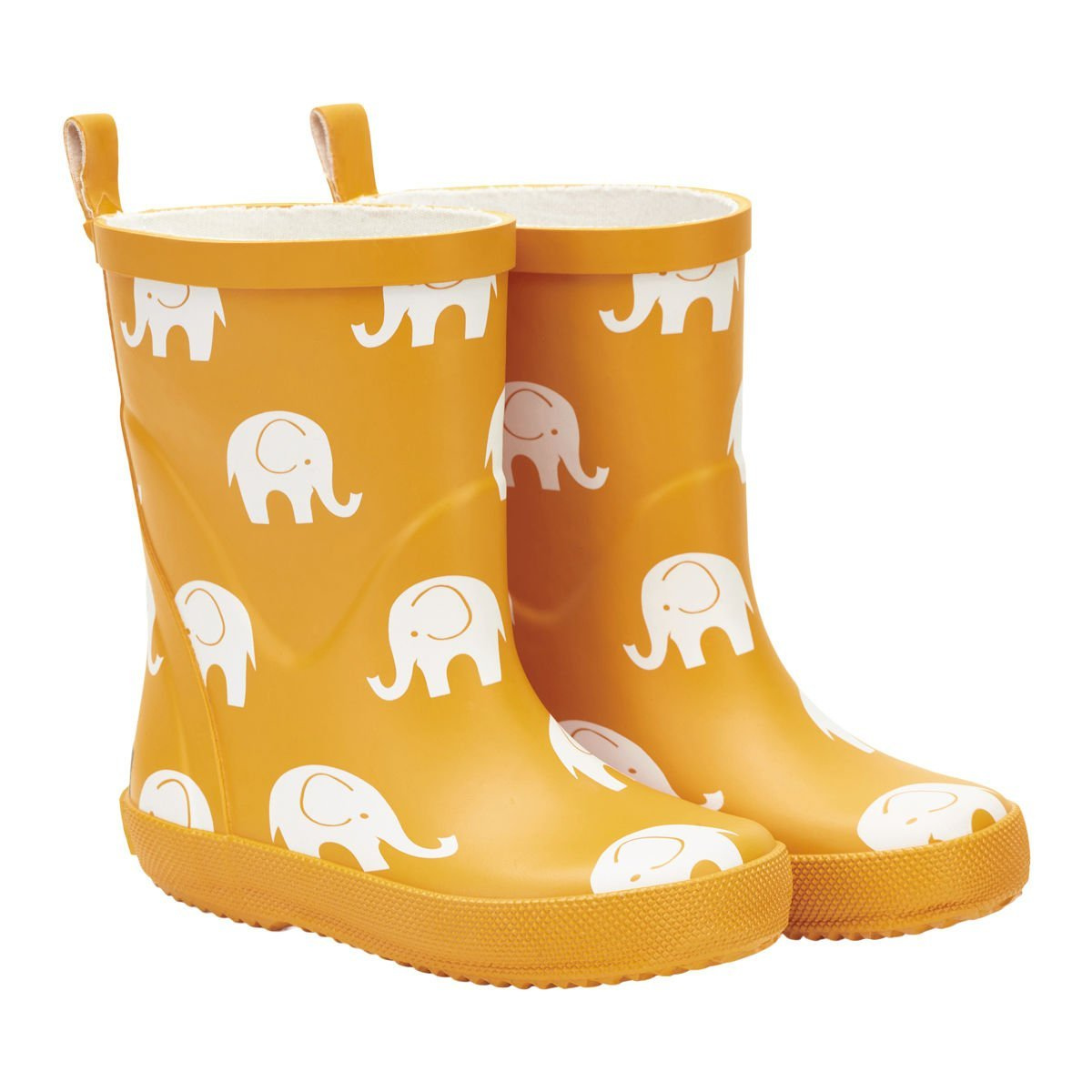 Cizme din cauciuc natural pentru copii yellow elephant CeLaVi