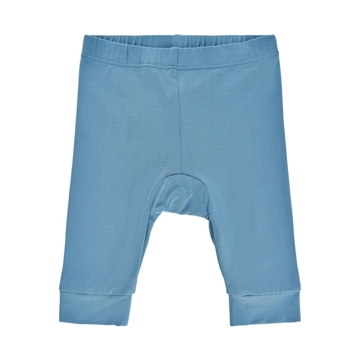 Pantaloni colanți din bambus blue heaven Minymo