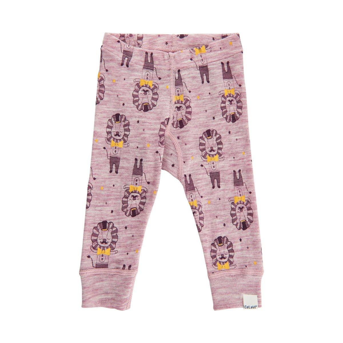 Pantaloni colanți din lână merinos Starling CeLaVi