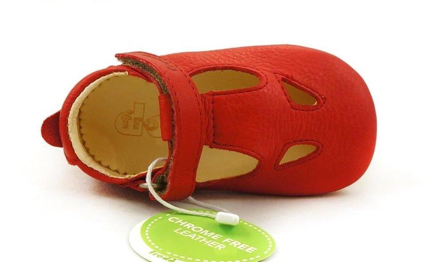 Sandale barefoot din piele red Froddo