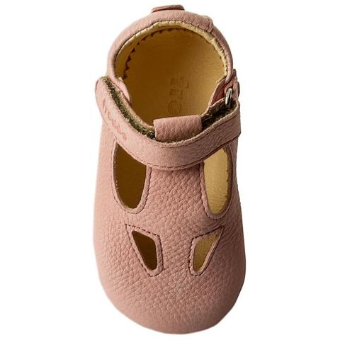 Sandale barefoot din piele roz Froddo