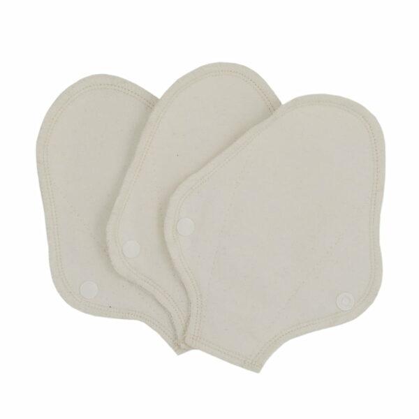 Set 3 absorbante intime lavabile tanga pantyliner Natural ImseVimse