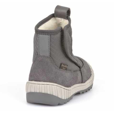 Cizme impermeabile din piele căptuşite cu lână naturală şi talpă flexibilă Froddo Grey 4