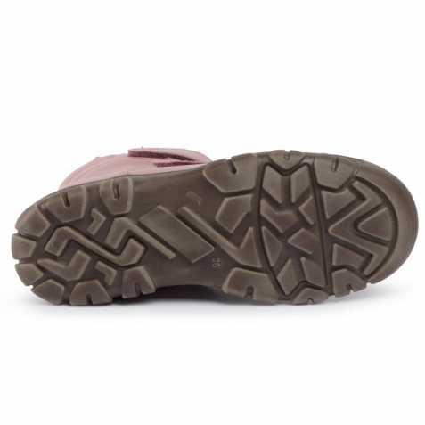 Cizme impermeabile din piele căptuşite cu lână naturală şi talpă flexibilă Froddo Pink 5