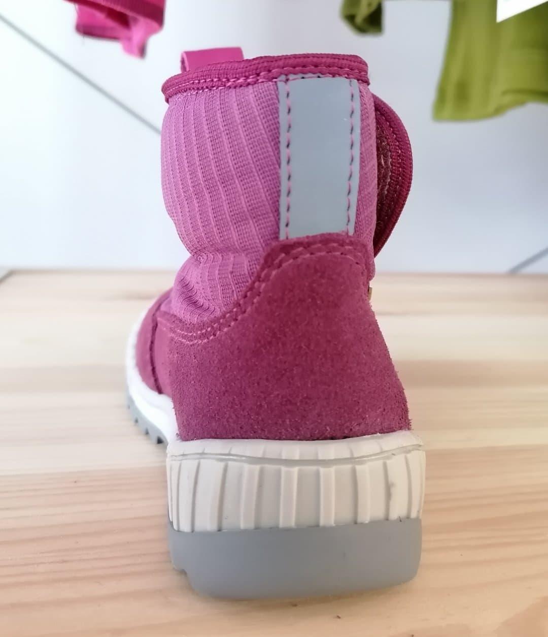 Cizme impermeabile din piele căptuşite cu lână naturală şi talpă flexibilă Froddo Purple 3